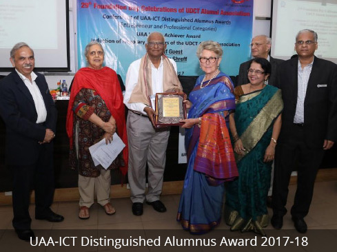UAA-ICT Distinguished Alumnus Award 2017-18